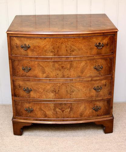 1950s Walnut Chest of Drawers, English (1 of 1)