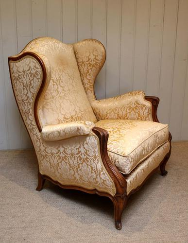 French Walnut Armchair c.1930 (1 of 1)