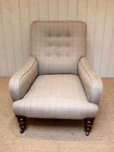 Upholstered Low Armchair, England c.1910 (1 of 1)