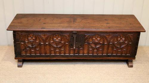 French Oak Coffer c.1700 (1 of 1)