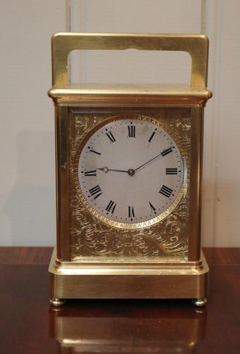 Early French Striking Carriage Clock c.1840 to 1850) (1 of 1)