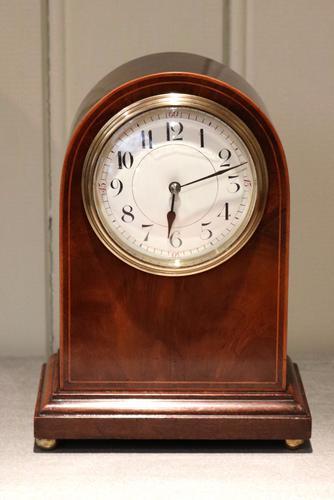 Edwardian Arch Top Timepiece Mantel Clock, England & France c.1910 (1 of 1)
