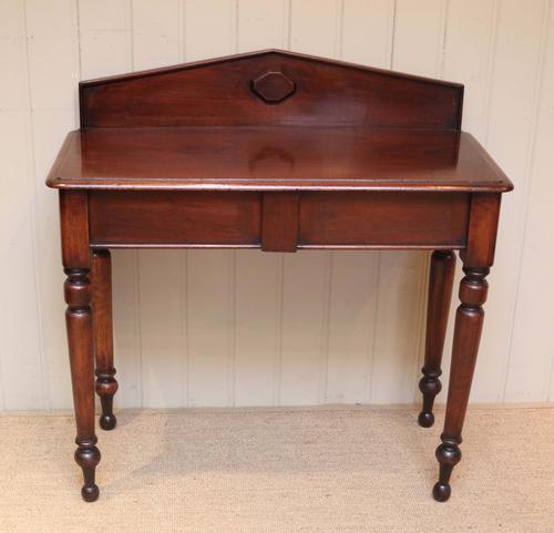 Late 19th Century Mahogany Hall Table (1 of 1)