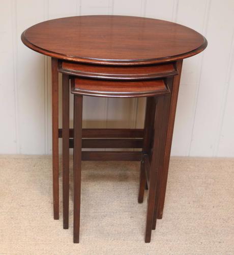 Mahogany Nest of Tables c.1920 (1 of 1)