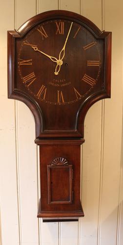 Mahogany Tavern Wall Clock C.1920 (1 of 3)