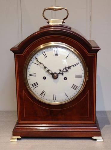 English Mahogany Bracket Clock, England 1905 (1 of 1)