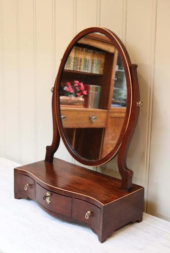 Victorian Mahogany Dressing Table Mirror (1 of 1)