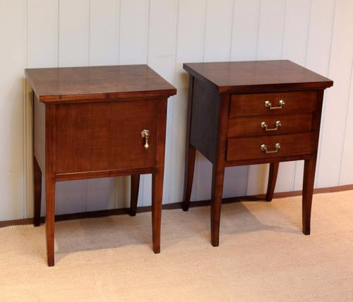 Pair of Cherrywood Cabinets c.1950 (1 of 1)
