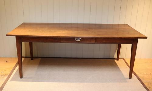 French Oak Farmhouse Table c.1920 (1 of 1)