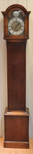 Oak Westminster and Whittington Chime Grandmother Clock (1 of 1)