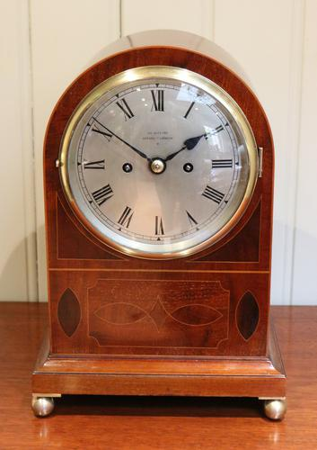 Late 19th Century Twin Fusee Bracket Clock, England c.1890 (1 of 1)