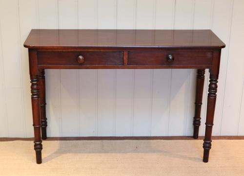 Mahogany Side Table c.1860 (1 of 1)