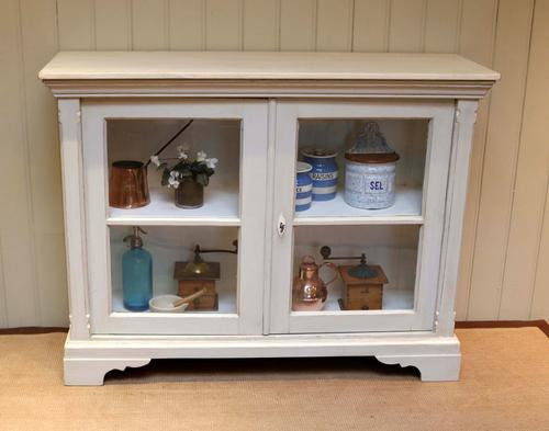 Continental Painted Side Cabinet c.1890 (1 of 1)