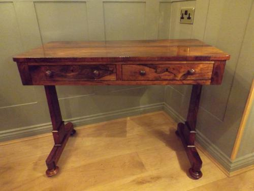 William IV Rosewood Library Table / Centre Table (1 of 12)