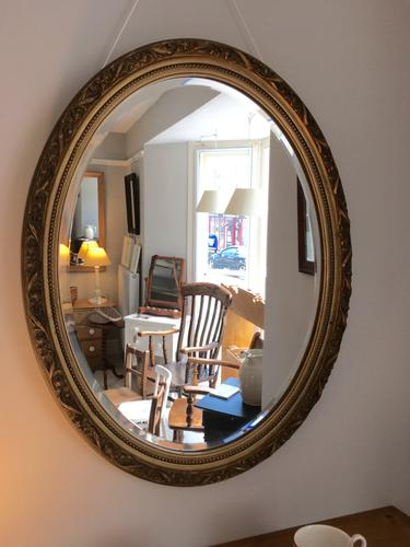 Oval Bevelled Mirror (1 of 2)