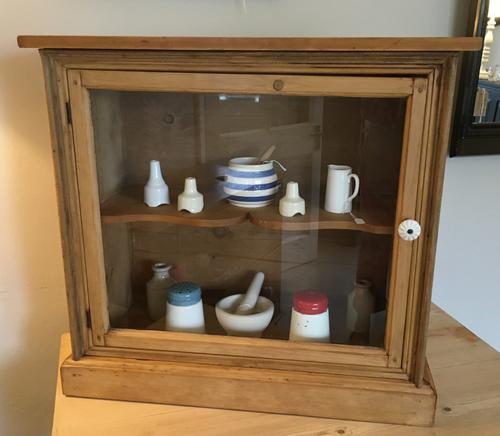 Glazed Cupboard c.1840 (1 of 5)