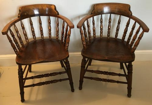 Pair of 'Smokers Bow' Armchairs (1 of 5)
