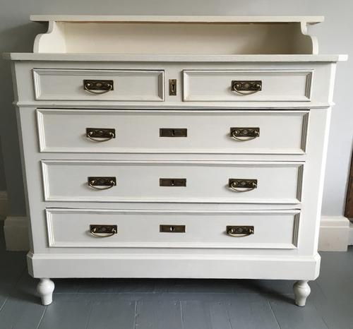 French Painted Chest of Drawers c.1890 (1 of 1)