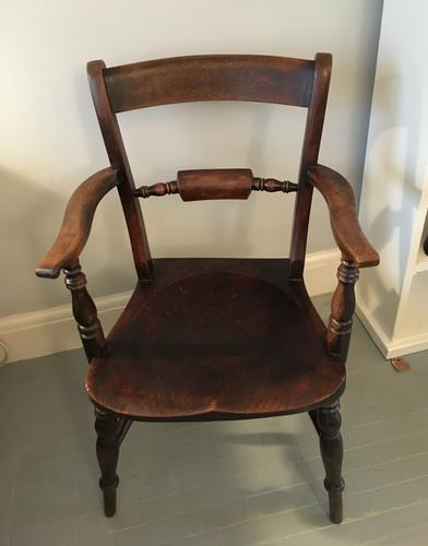 Rope Back Carver Chair c.1880 (1 of 1)