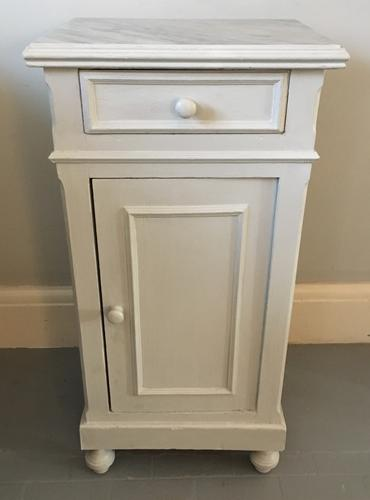 French Bedside Cupboard c.1900 (1 of 1)