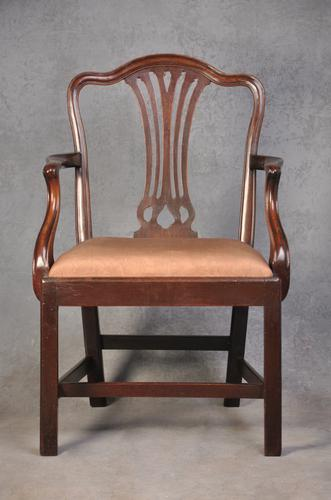 18th Century Mahogany Chippendale Chair (1 of 10)
