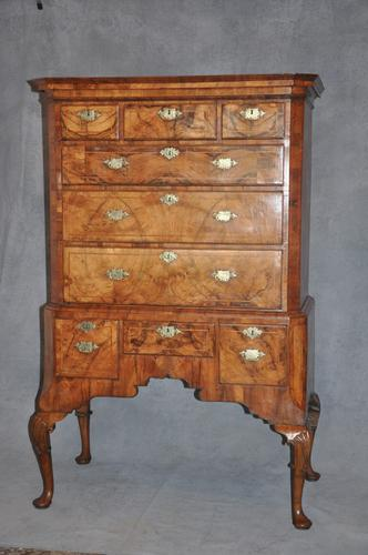 Fine early 18th Century Walnut Chest on Stand (1 of 1)