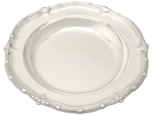 Sterling Silver Serving Dish by Paul De Lamerie - Antique George II (1 of 10)