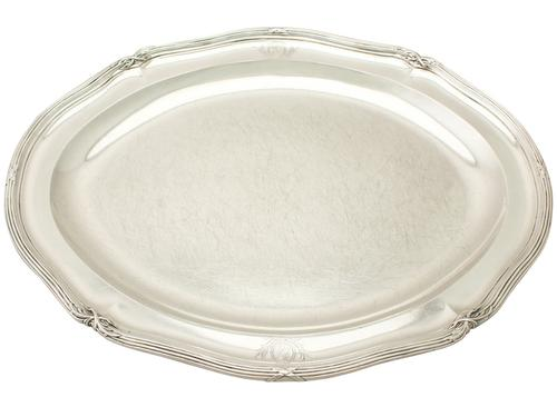 Sterling Silver Meat Platter by Paul Storr - Antique George III (1 of 12)