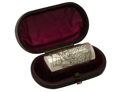 Victorian Sterling Silver Scent Flask by Sampson Mordan & Co (1 of 1)