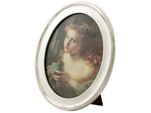 Antique Sterling Silver Photograph Frame (1 of 1)