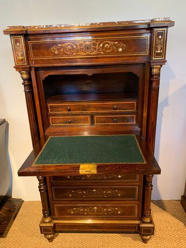 Napoleon III Rosewood Writing Desk (1 of 13)