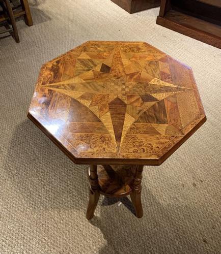 William Norrie New Zealand Inlaid Table C 1900 Mha0002 50401920 La151286 Loveantiques Com