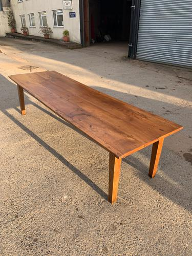 Elm Farmhouse Table 301cm (1 of 11)