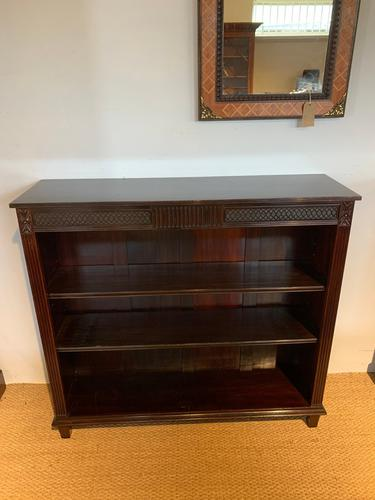 Edwardian Mahogany Bookcase (1 of 7)