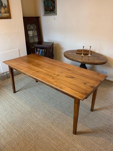 Cherry Wood Farm Table c.1860 (1 of 9)
