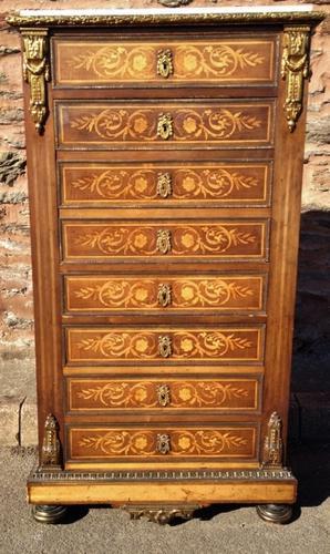 French Mahogany Desk  /  Seamainier (1 of 1)