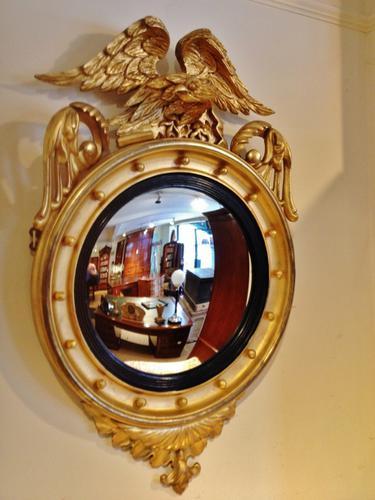 Gilt Convex Mirror C.1880 (1 of 1)