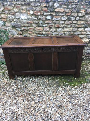 18th Century Oak Coffer (1 of 1)