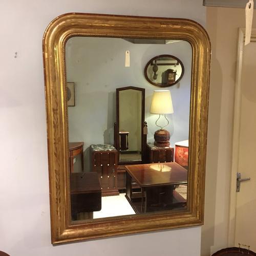 Antique Gilt Mirror c.1880 (1 of 1)
