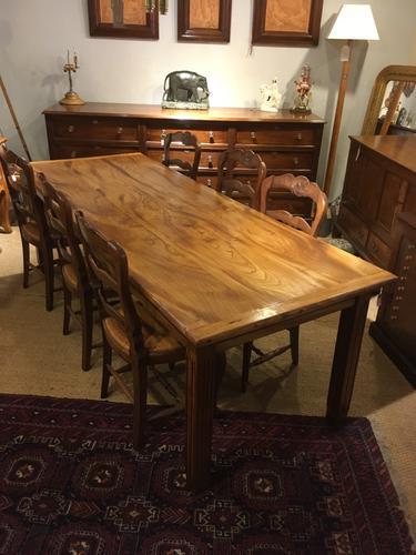Elm Farmhouse Table c.1930 (1 of 1)