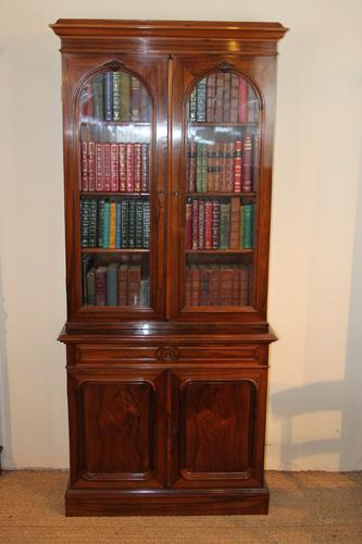 Rosewood Bookcase c.1860 (1 of 1)