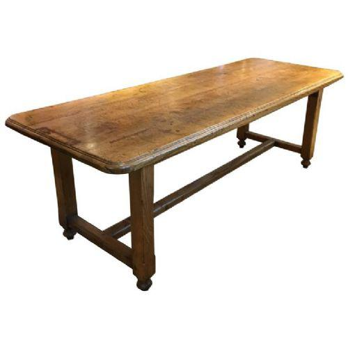 Ash Farmhouse Table / Kitchen Table / Dining Table c.1870 (1 of 1)