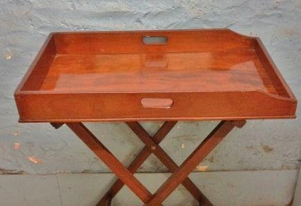 Butlers Tray on Stand c.1870 (1 of 1)