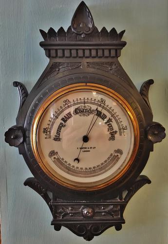 Ebonized Barometer c.1920 (1 of 1)