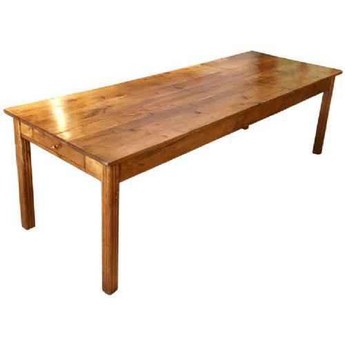 Chestnut Farmhouse Table c.1920 (1 of 1)