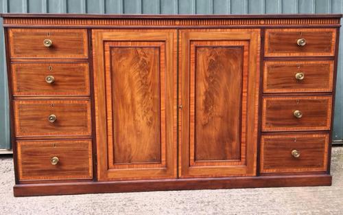 Linen Press Cabinet c.1880 (1 of 1)