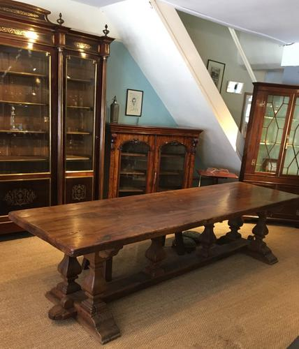 Large Refectory Table c.1930 (1 of 1)