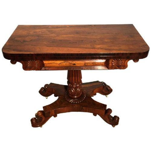 Antique Card Table c.1830 (1 of 1)