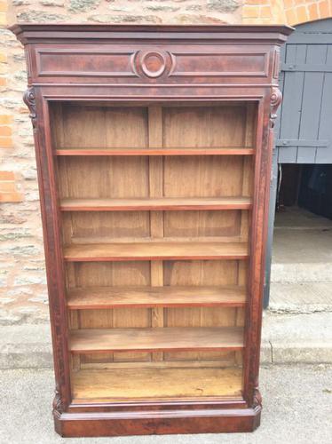 Mahogany Bookcase c.1880 (1 of 1)