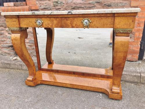Amboyna Console Table c.1890 (1 of 1)